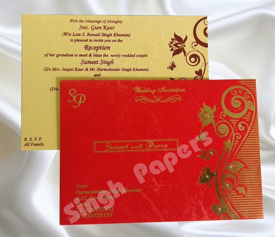wedding #cards, #hindu #wedding #card, #invitation #cards ,#designs ...