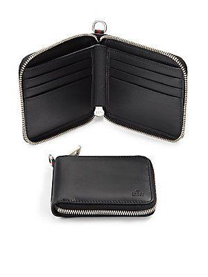 c541d406f9f Gucci Leather Zip-Around Wallet