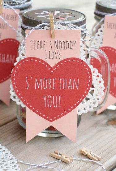 25 Valentine\'s Day Mason Jars That Will Set Your Heart on Fire ...