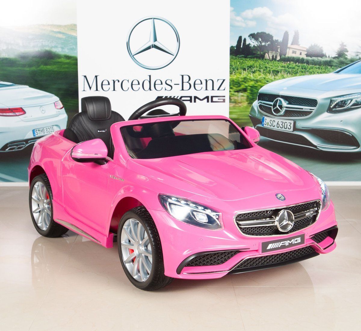 Mercedes Power Wheels >> Mercedes Benz S63 Kids 12v Electric Power Wheels Rc Ride On Car With