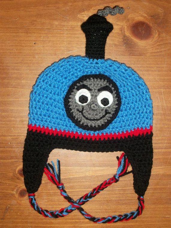 Crochet Thomas the Train/Thomas the Tank Hat by playinfootsie ...