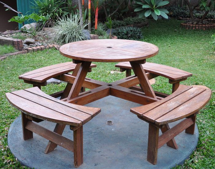 garden furniture set for families