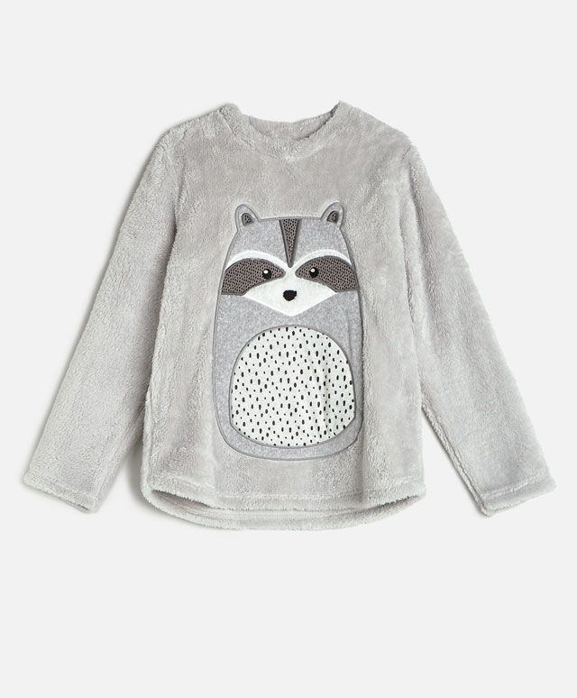 Sweatshirt guaxinim - na Oysho