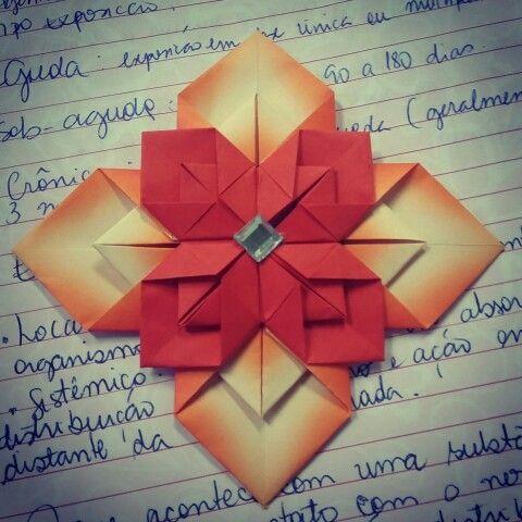 Mandala origami
