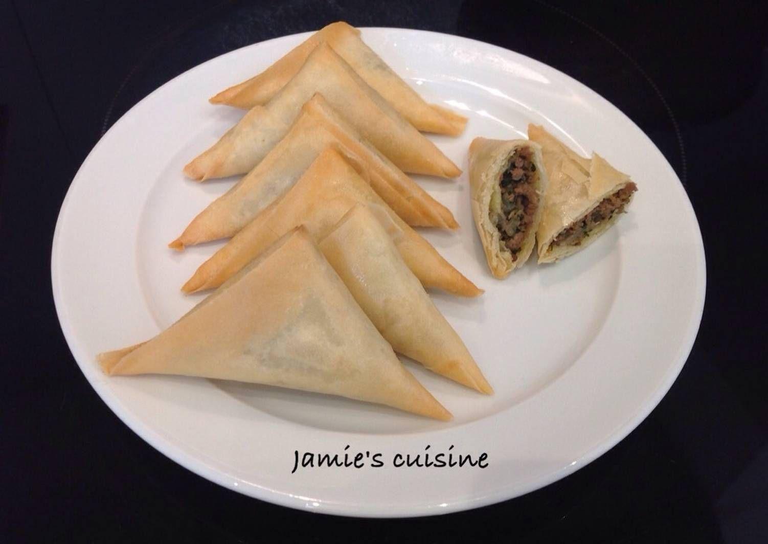 Resep Samosa Daging Sapi Oleh Jamie S Cuisine Resep Di 2020 Daging Sapi Samosa Sapi