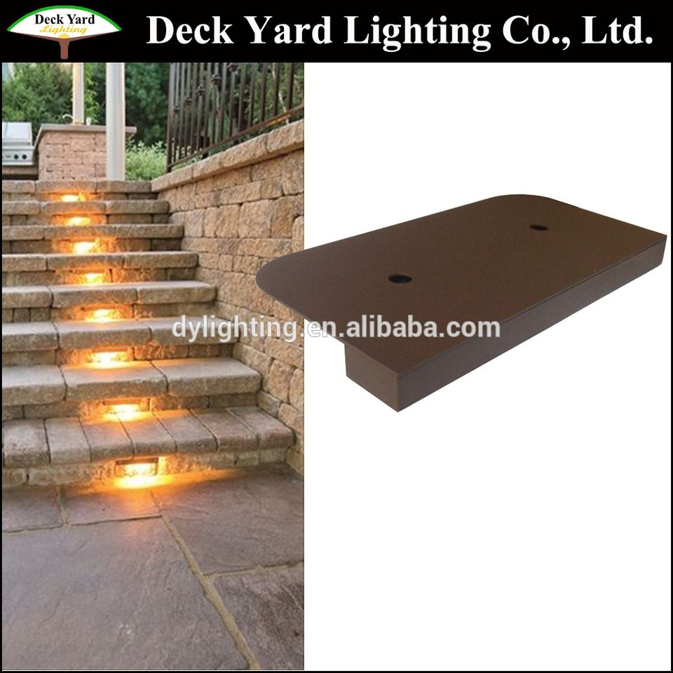 Low Voltage Led Step Stair Paver Dot Light 12v Paver Dots Cast Light For Outdoor Illuminating Hardscape Stairs An Pathway Lights Diy Hardscape Outdoor Pavers