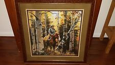 Home Interiors Homco Large Cowboy Picture Reprint Of Jack Sorenson Artwork House Interior Interior Pictures Retro Home