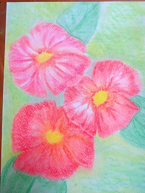 Playing with pastel