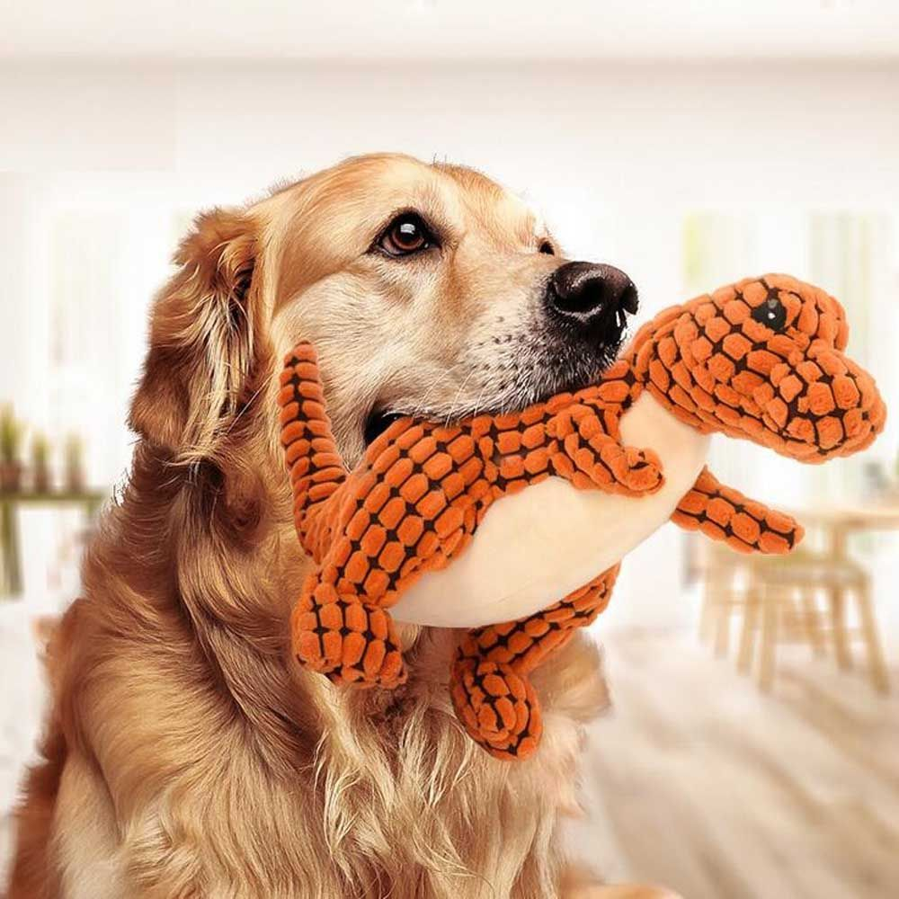 Dinosaur Squeaky And Chewy Toy For Dogs And Many Other Variants