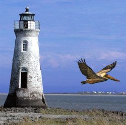 Tybee Island Georgia..a place you would love!  It is 20 mins from Savannah, probably the prettiest city in the US.  I know, I am particial to my roots.  We lived about 90 miles from Savannah so I grew up going their very often.