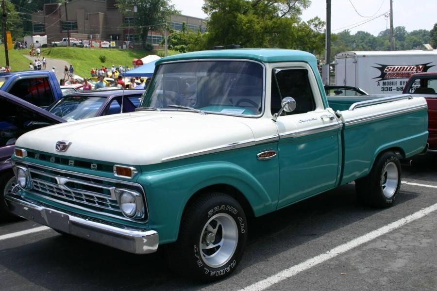1966 Ford Trucks 1966 Ford F 100 Custom Cab Pickup Truck With