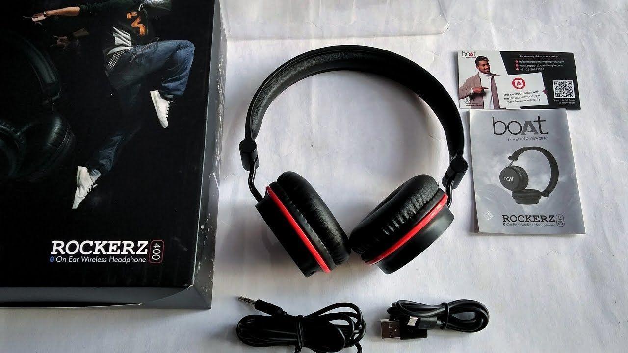 Best Bluetooth Headset Under Rs 1500 Boat Rockerz 400 Review Headset Bluetooth Headset Wireless Headphones