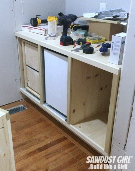 Photo of DIY corner cabinet with NO wasted space! – Sawdust Girl®