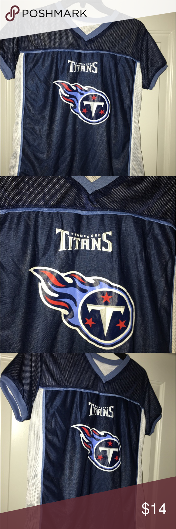 dad25e66f Tennessee Titans reversible flag football jersey Thank you for viewing my  listing
