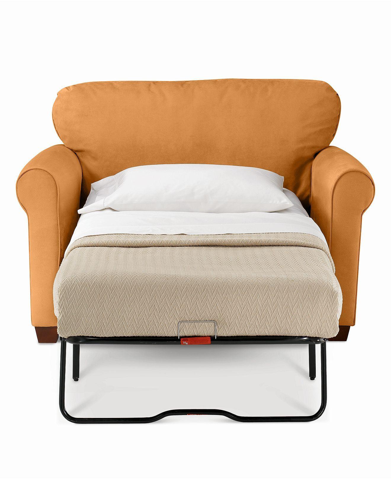 Sasha Sofa Bed Twin Sleeper Chairs Furniture Macy S Tiny