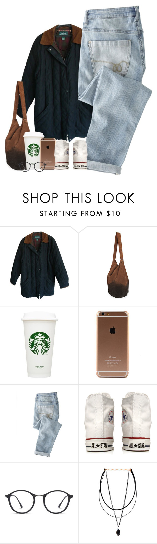 """🐌"" by mxnvt ❤ liked on Polyvore featuring Polo Ralph Lauren, Wrap, Converse and Ray-Ban"