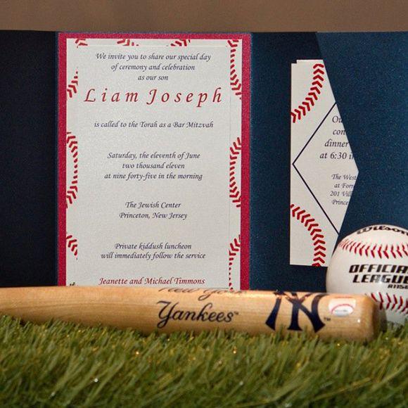 baseball wedding invitations   ... It Out of the Park Baseball Bar ...