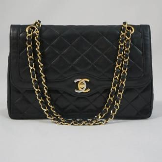 672daa52041f0c Paris Limited Edition Chanel Double Flap bag offered only in the Cambon  Store in Paris.