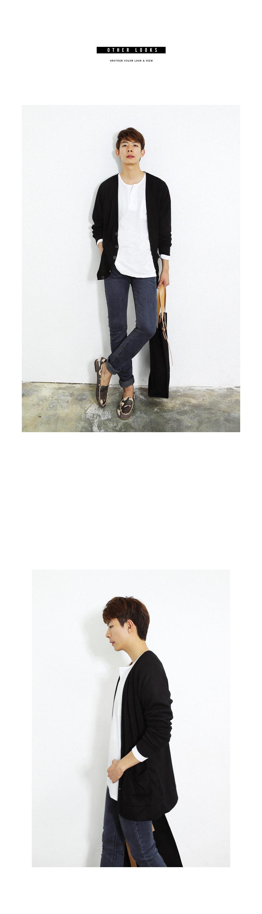 ラグランディテールルーズカーディガン・全4色カーディガンカーディガン通販 | メンズファッション 通販サイト【ディーホリックメンズ DHOLIC MEN'S】