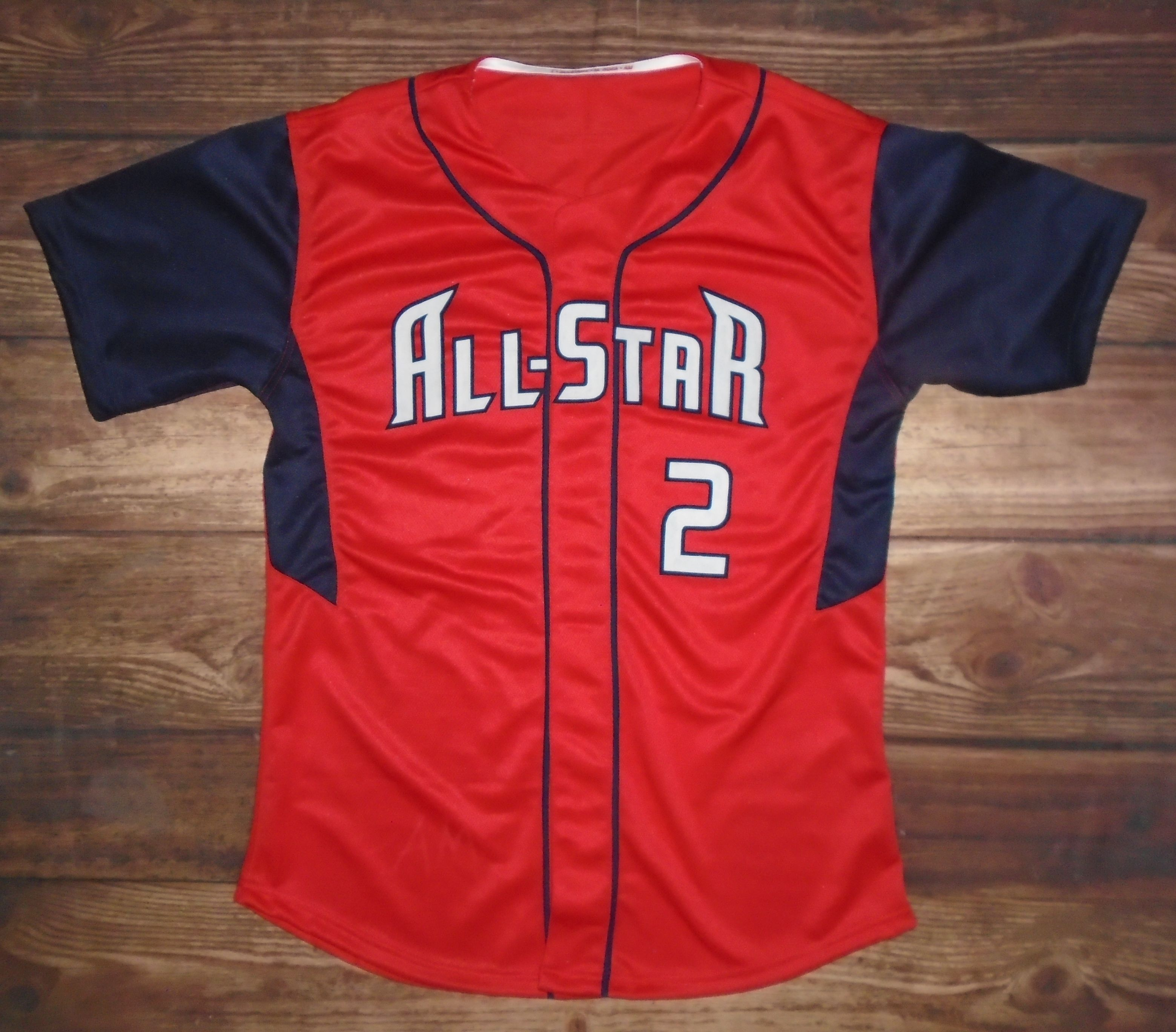 All Stars Baseball custom jersey created at Lloyd Sixsmith