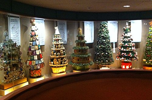 Cool Christmas Trees From The Hallmark Museum In Kansas City
