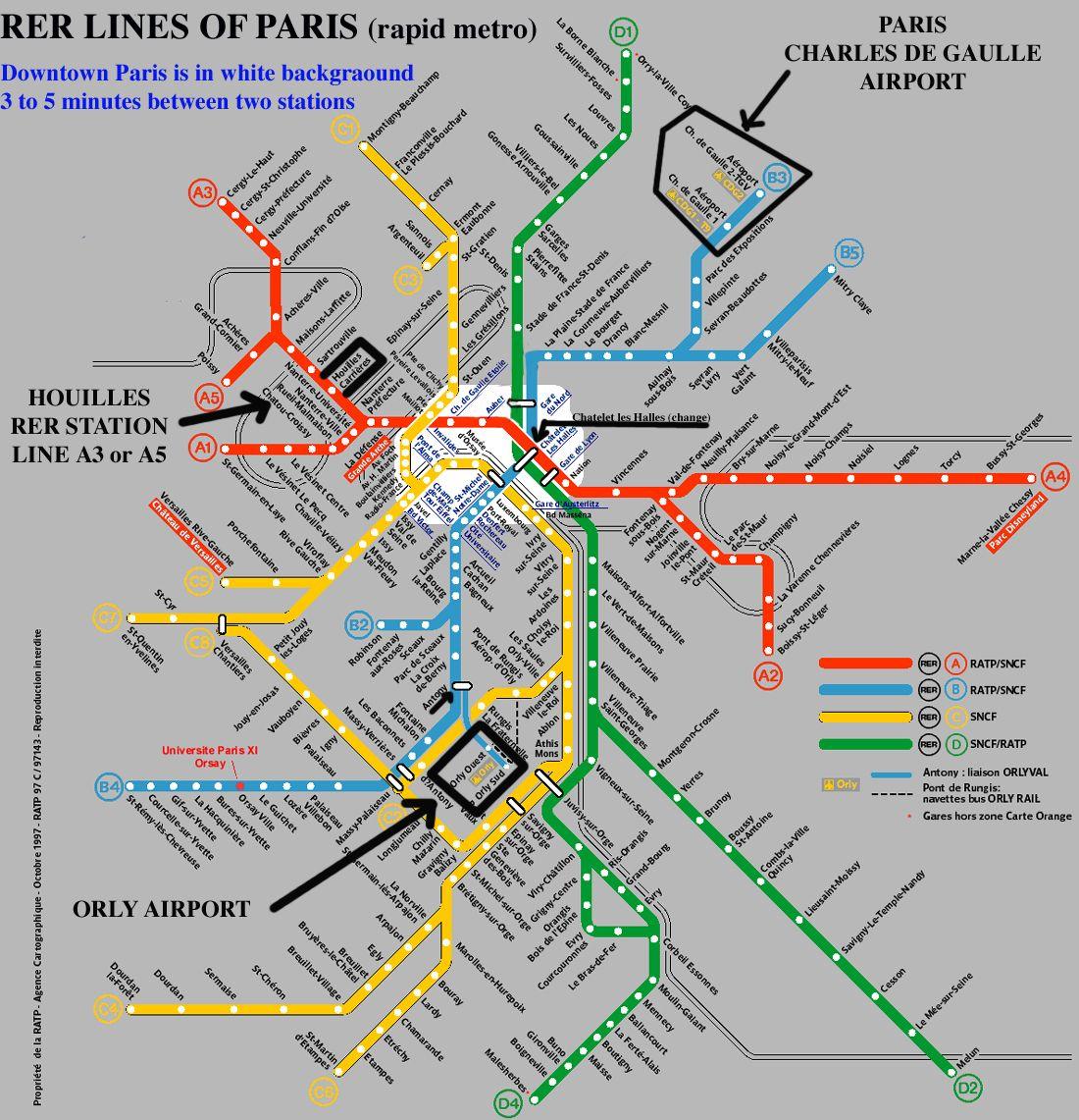 Plan Rer Paris Et Banlieue
