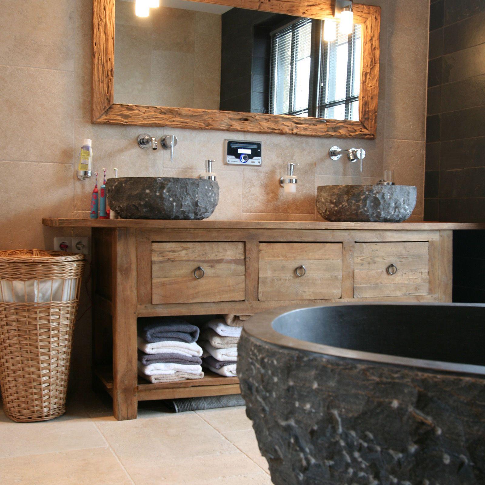 naturstein waschbecken k che flussstein waschbecken. Black Bedroom Furniture Sets. Home Design Ideas