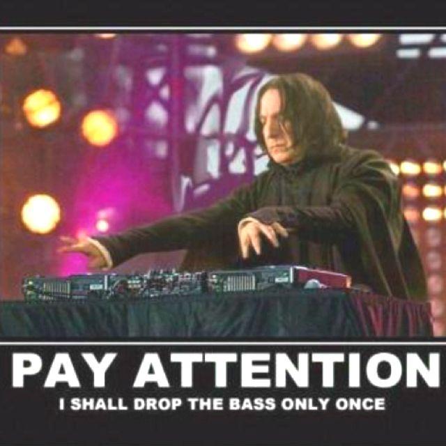 Oh Professor Snape Snape Harry Potter Harry Potter Funny Bass Drop
