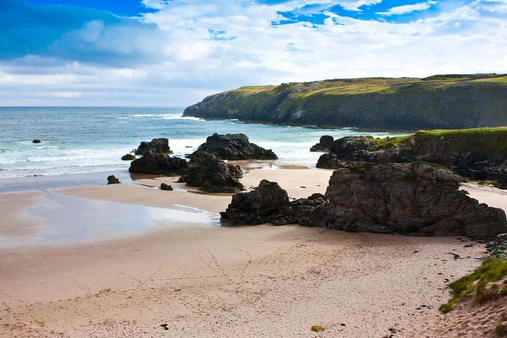 Resultado de imagen para Sandwood Bay, Escocia, Reino Unido.