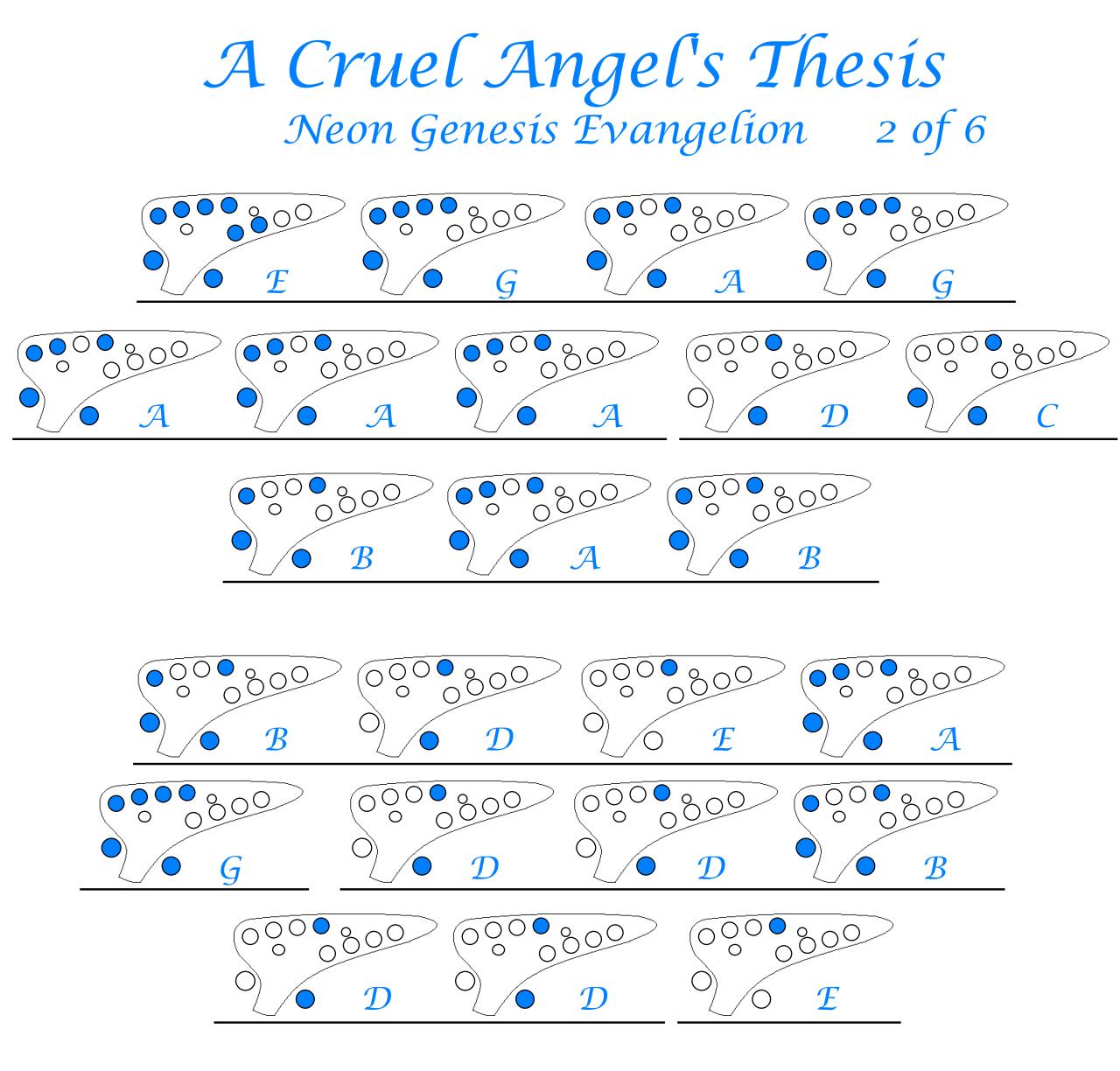 """A Cruel Angel's Thesis"" Yoko Takahashi (voice"