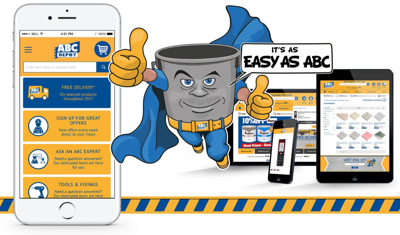 Abc depot builders merchants website design in 2020 abc