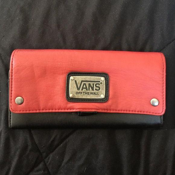 vans wallet black