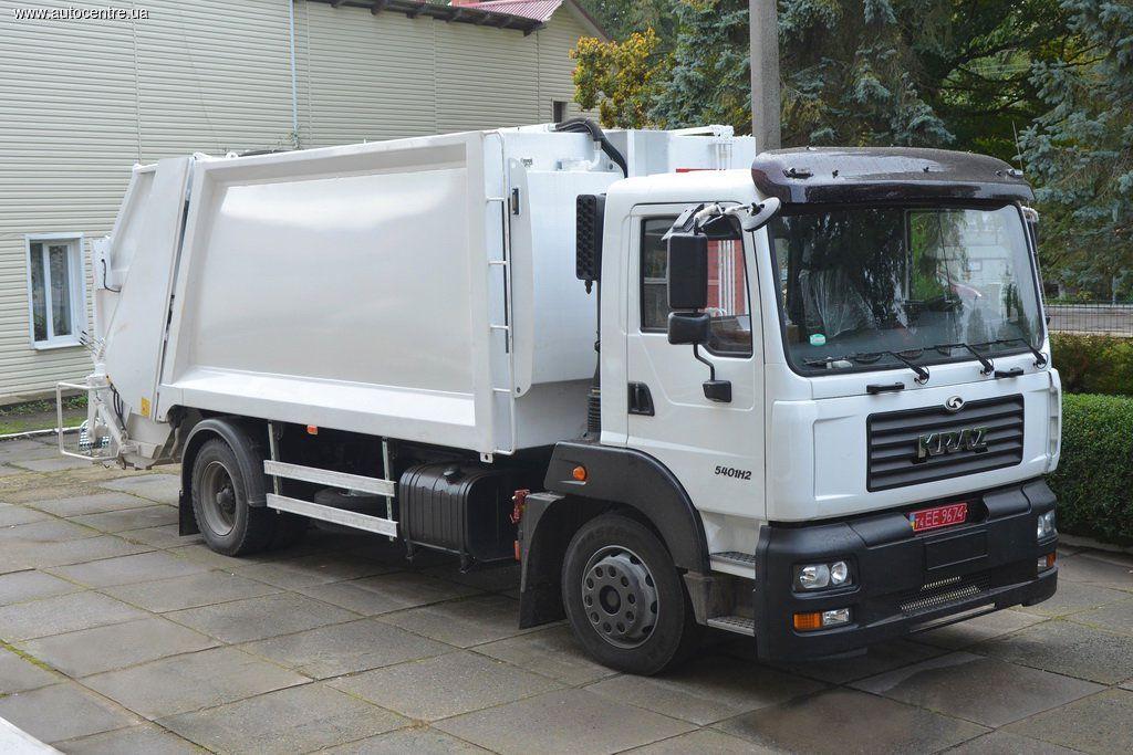 «АВТЕК» впервые реализовал проект мусоровоза HIDRO-MAK на базе шасси автомобиля КРАЗ
