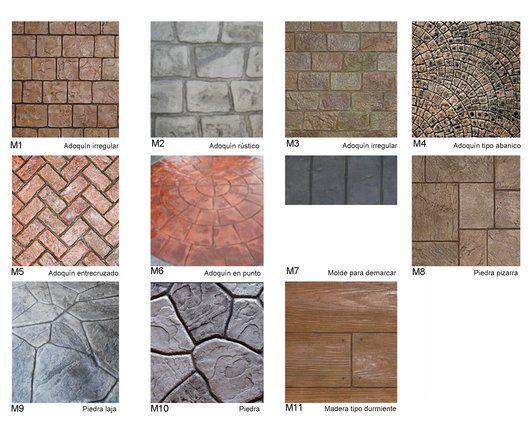 Pavimento texturado de pavitex textura render - Tipos de pavimentos exteriores ...