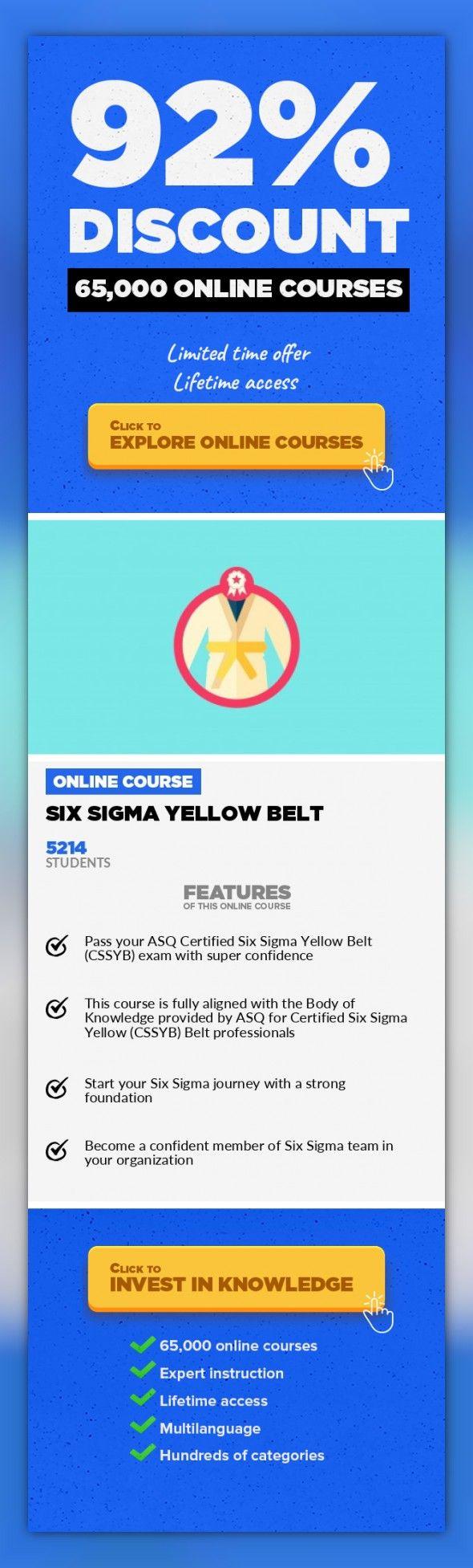 Six Sigma Yellow Belt Exam Prep Best Belt 2018