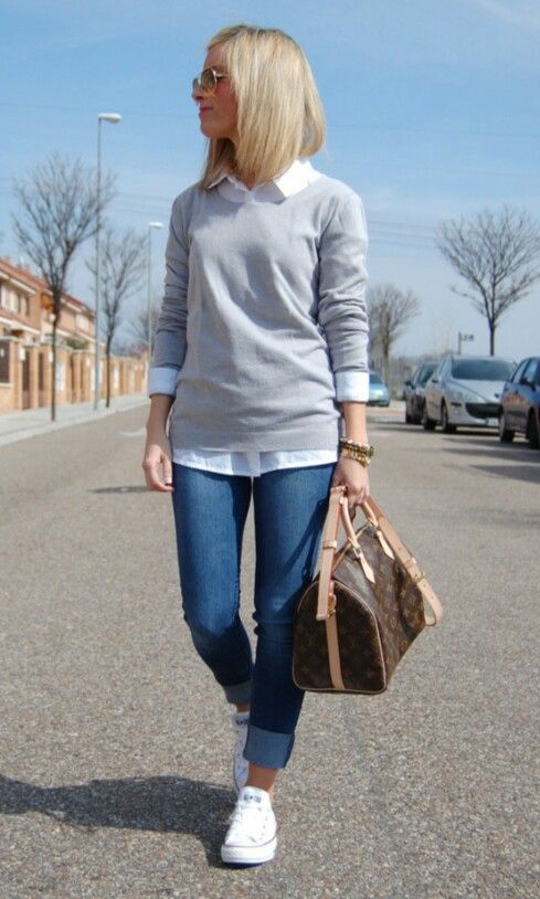 superb sueter gris mujer outfit gratis