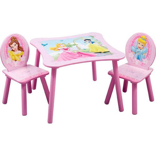 Disney Princess Square Table and Chair Set - Delta - Toys\