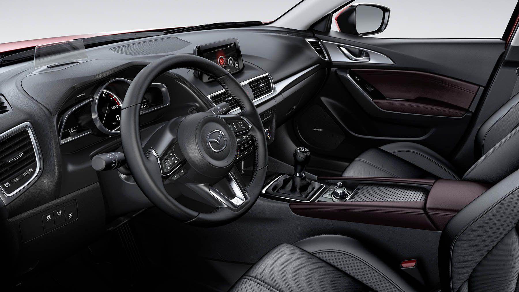 Galería del Vehículo Mazda 3 Sedán Modelo 2017 Mazda