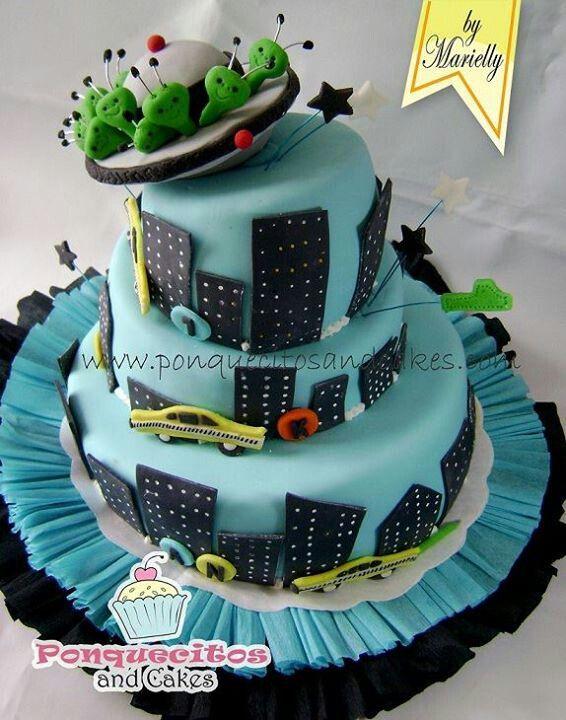 Ufo Alien Cake Favorites Pinterest Alien Cake Cake And Cake