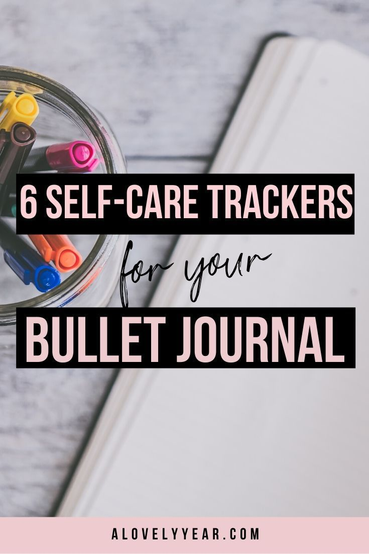 6 Inspiring Ways to Track Your Self-Care