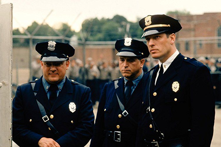 Clancy Brown Dion Anderson And Brian Delate In The Shawshank Redemption 1994