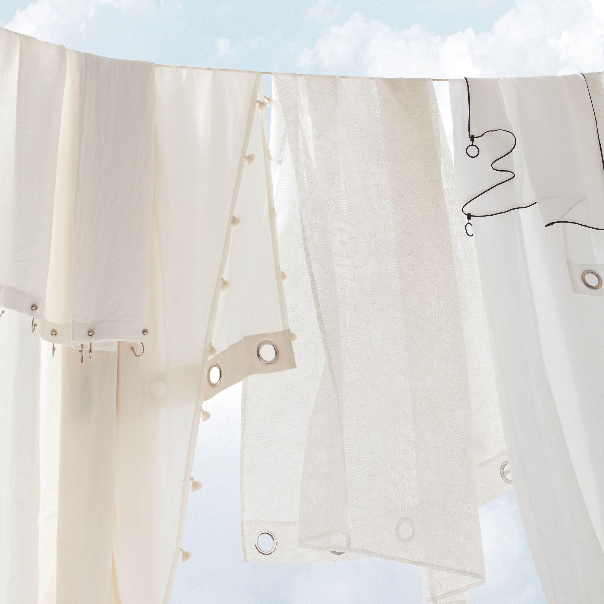 Rideau Gris Perle Ikea cet été, les matières légères et les couleurs toutes douces