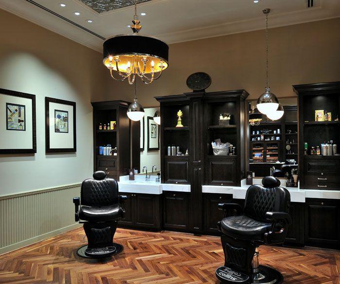 The Barber Shop ~ Lu0027Auberge · Barbershop DesignBarbershop IdeasBarber ...