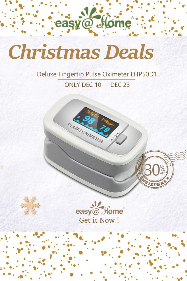 Holiday Sale On Deluxe Fingertip Oximeter Perfect For All Ages Finger Sizes Measure And Monitor Your Pulse Pulse Irregular Heartbeat Easy Pulses