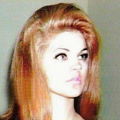 Priscilla With Strawberry Blonde Hair 1966 Priscilla Presley