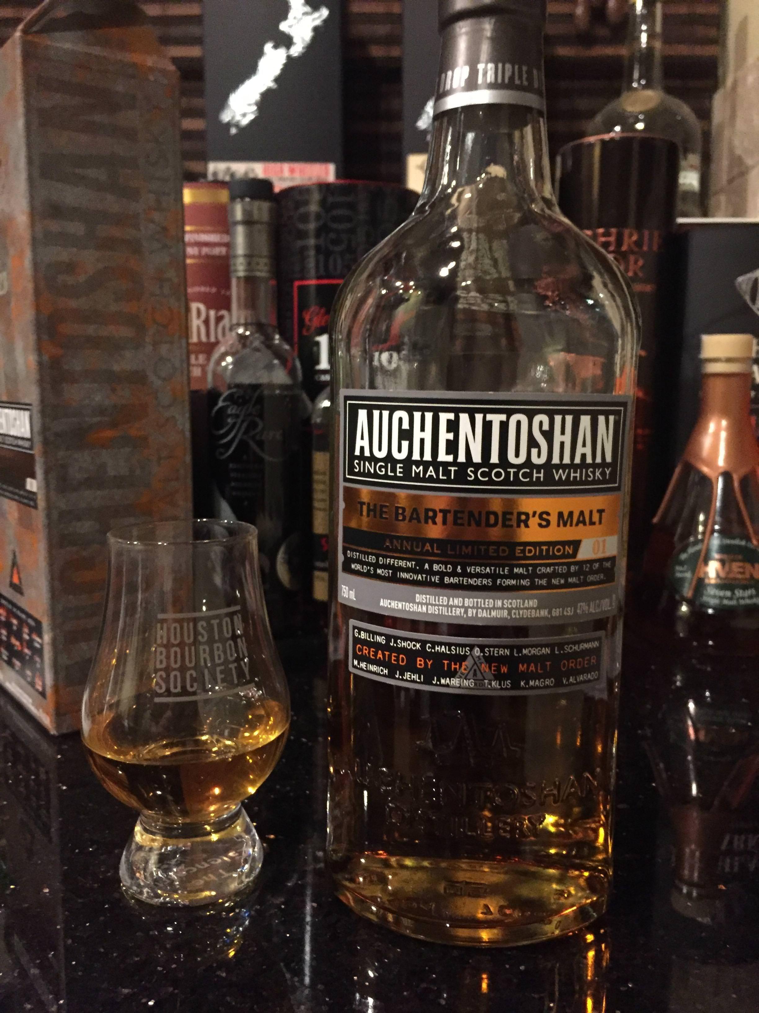 Review #67: Auchentoshan The Bartender\'s Malt 01 http://ift.tt ...