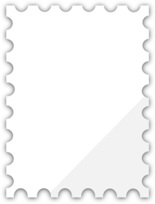 Blank Postage Stamp Template Dedicated To Susi Tekunan By RD
