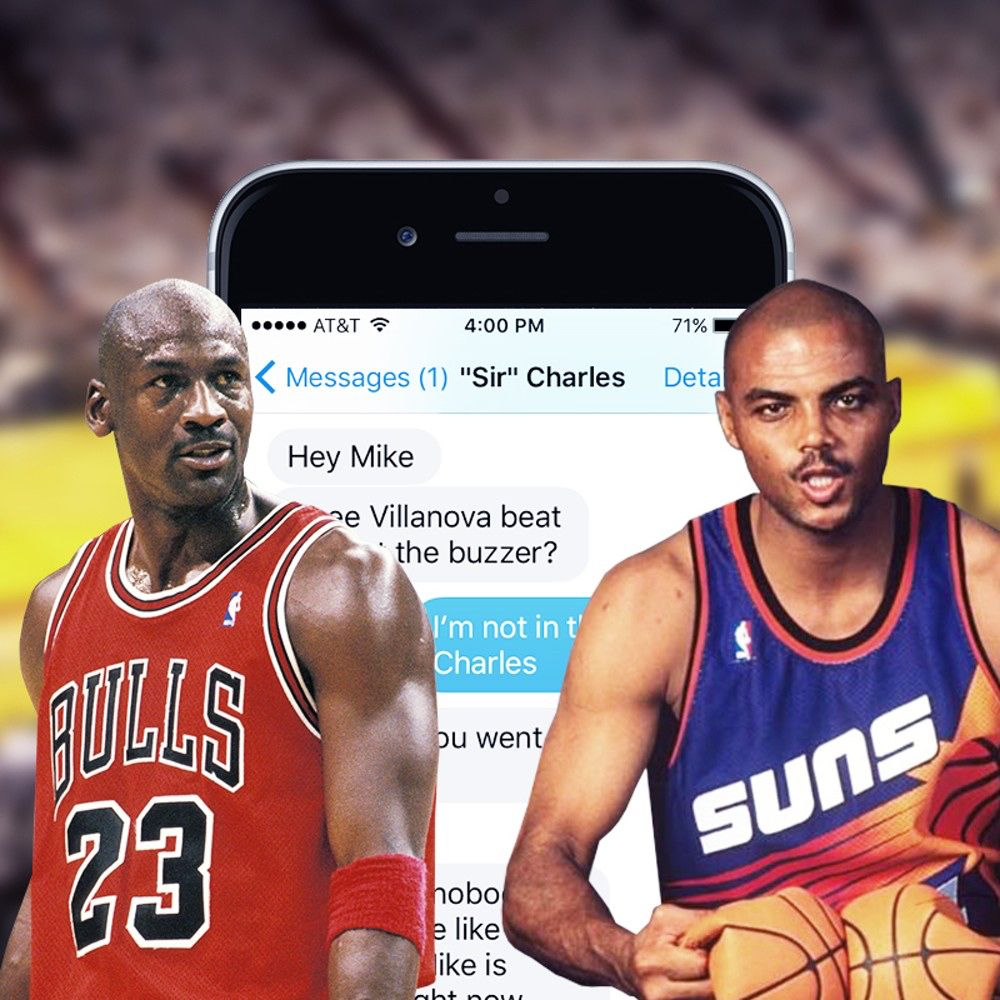Charles Barkley Texts Michael Jordan To Brag About
