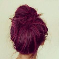 cheveux framboise la couleur qui cartonne en 2016 coiffures - Coloration Cheveux Framboise