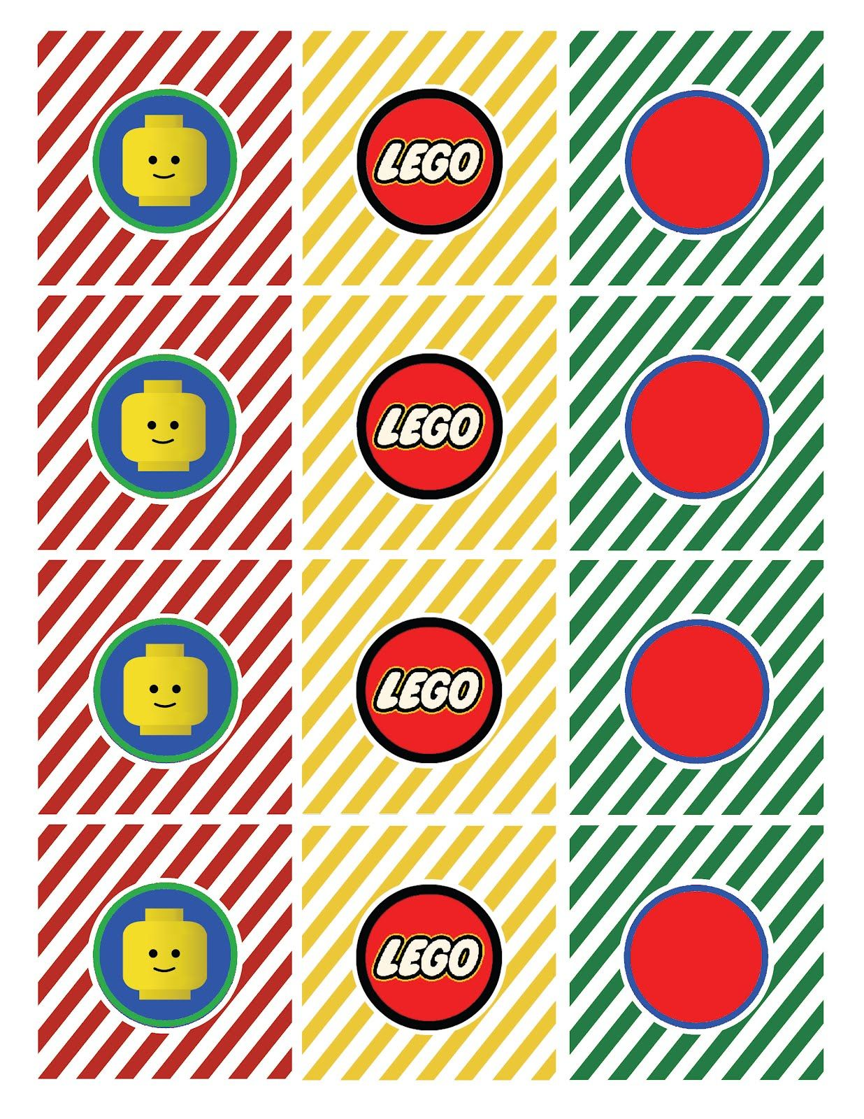 Free Lego Printables Lego Straw Flag Says Drink Me Lego Tented
